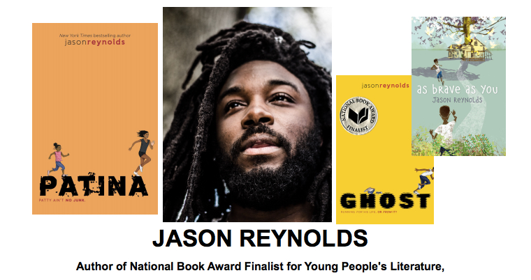Jason Reynolds and Books pic