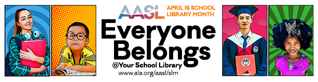 April is School Library Month
