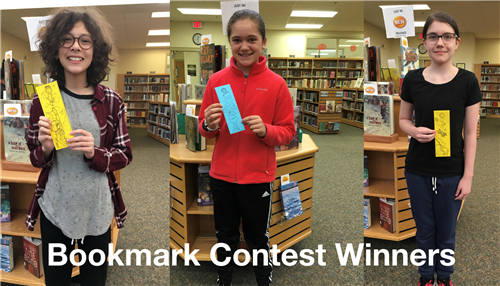 Bookmark Contest Winners Announced