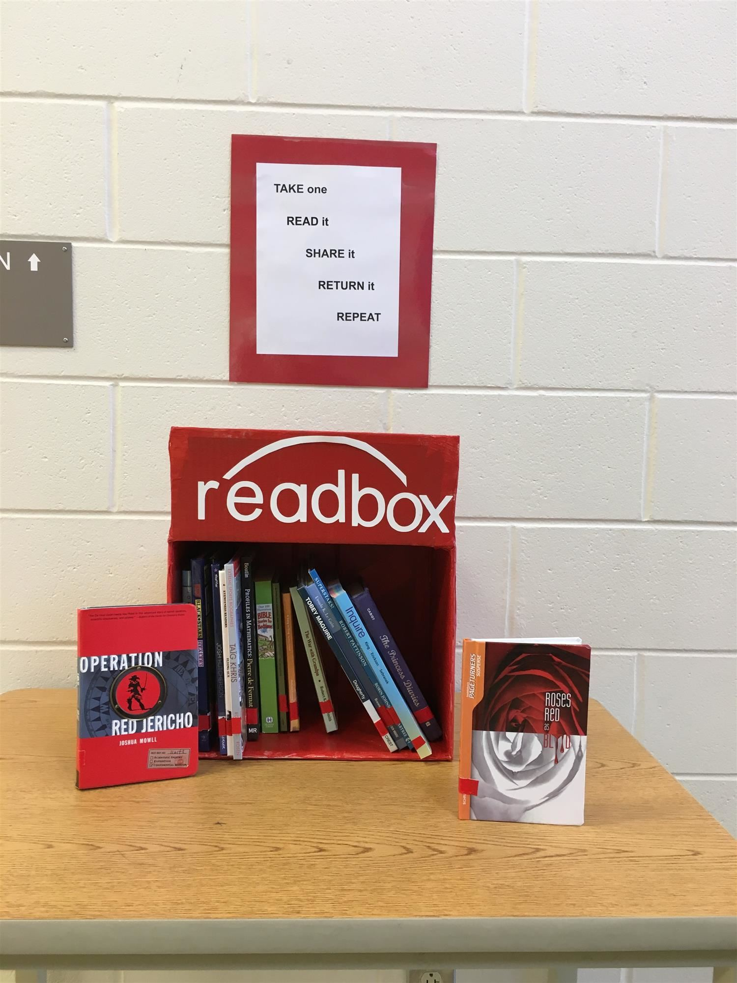 Check out the READboxes!