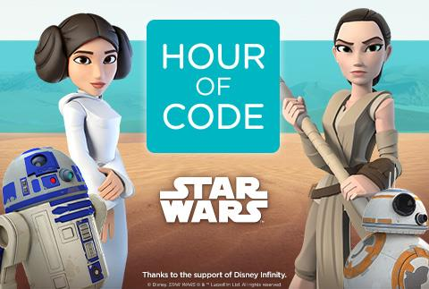 Star Wars, Building a Galaxy with Code