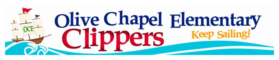 banner image of olive chappel elementary school logo