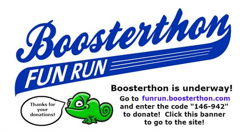 Boosterthon Donations