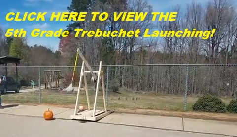 Trebuchet Launching video