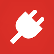 Logo image of a power plug