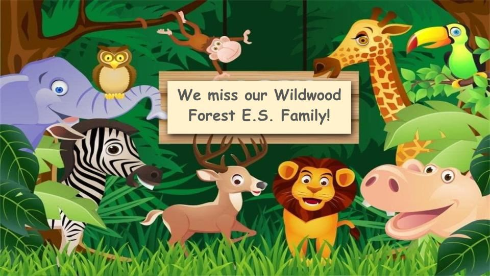 WWF Misses Our Students so Much!