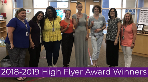2018-2019 High Flyer Award Winners