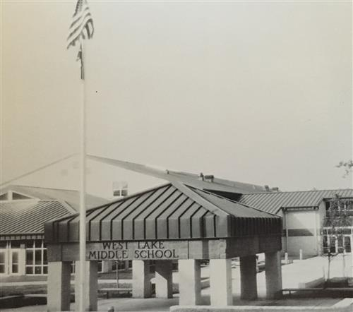 West Lake Middle in 1992