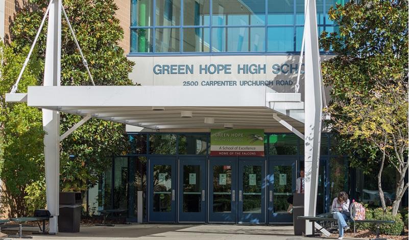 Green hope high homepage green hope high school entrance malvernweather Choice Image