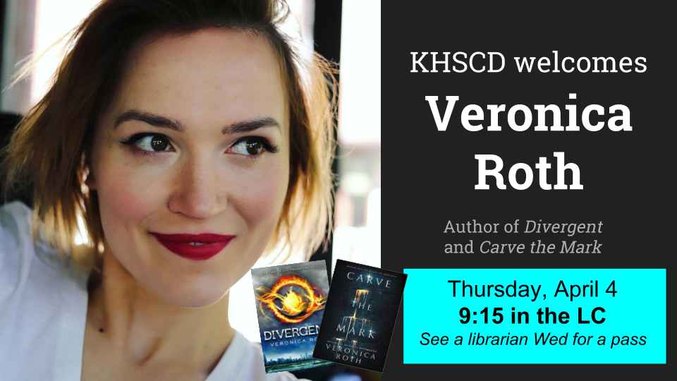 Veronica Roth Visit