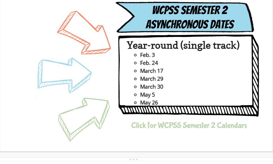 Wcpss Calendar 2021-22 Traditional Pictures