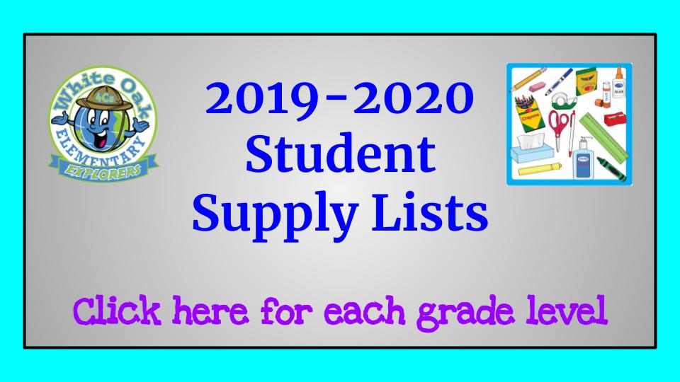 White Oak Elementary School / Homepage