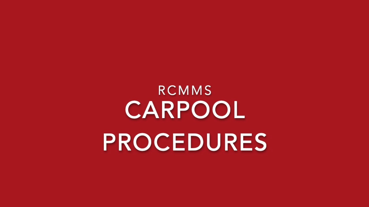Carpool Procedures